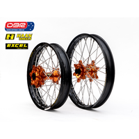 "Haan Wheels Australia KTM 790 ""Factory"" Rally Desert Spec Wheel set 21""Front  18""Rear Cush Drive"