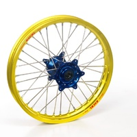 Yellow Rim Blue Hub